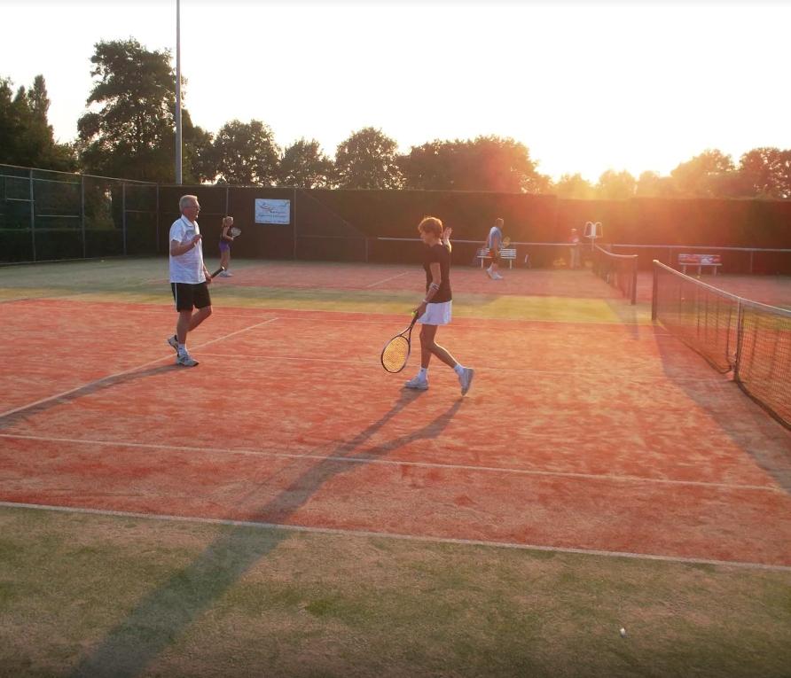 Tennis is veel leuker als je wedstrijden speelt
